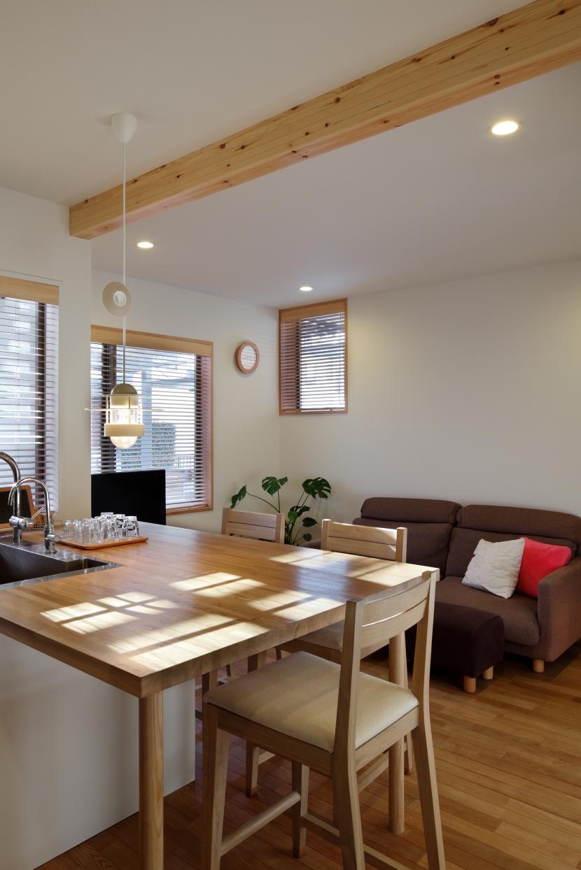 建て売り住宅のリノベーション (リビング)
