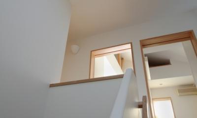 建て売り住宅のリノベーション (階段)
