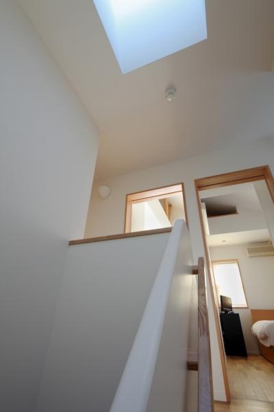 階段 (建て売り住宅のリノベーション)