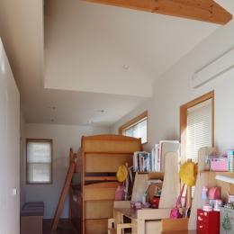 建て売り住宅のリノベーション-子供部屋