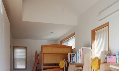 建て売り住宅のリノベーション (子供部屋)
