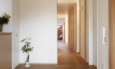 日本家屋のリノベーション (玄関)