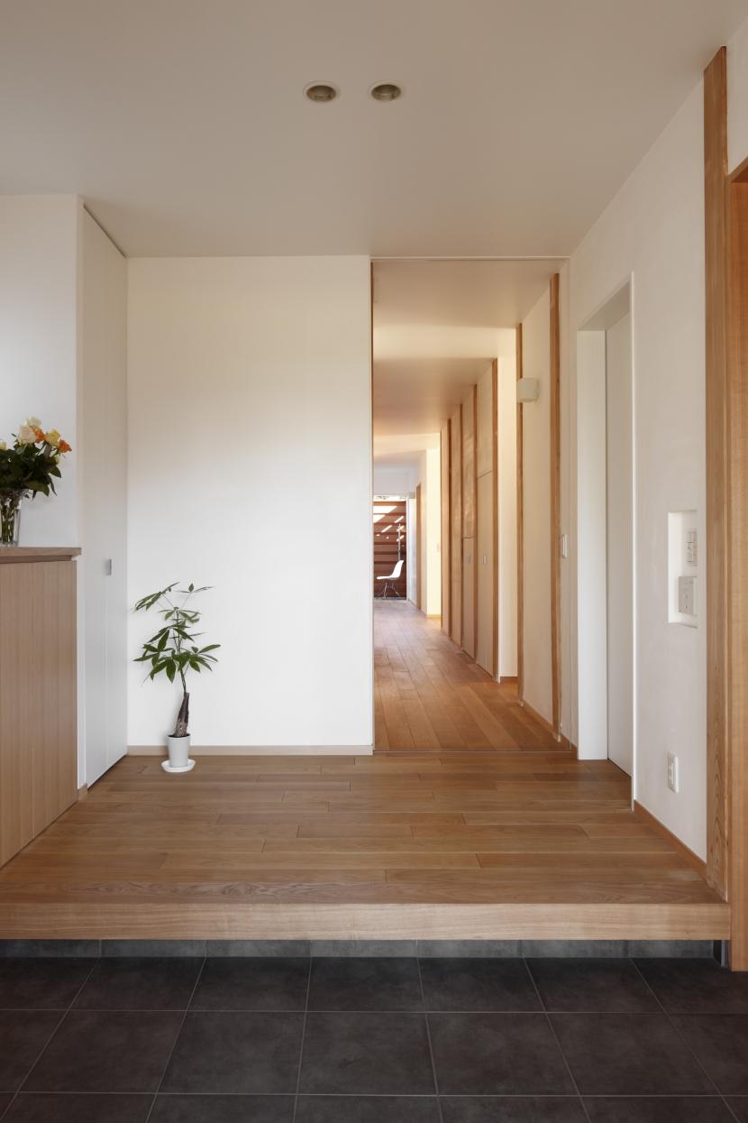 日本家屋のリノベーションの部屋 玄関