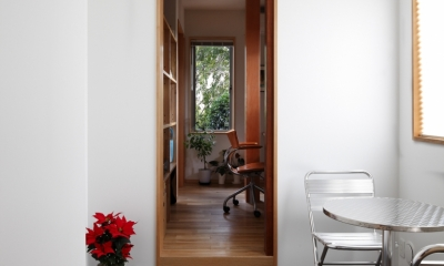 日本家屋のリノベーション (玄関の接客スペース)