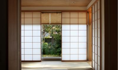 日本家屋のリノベーション (和室)