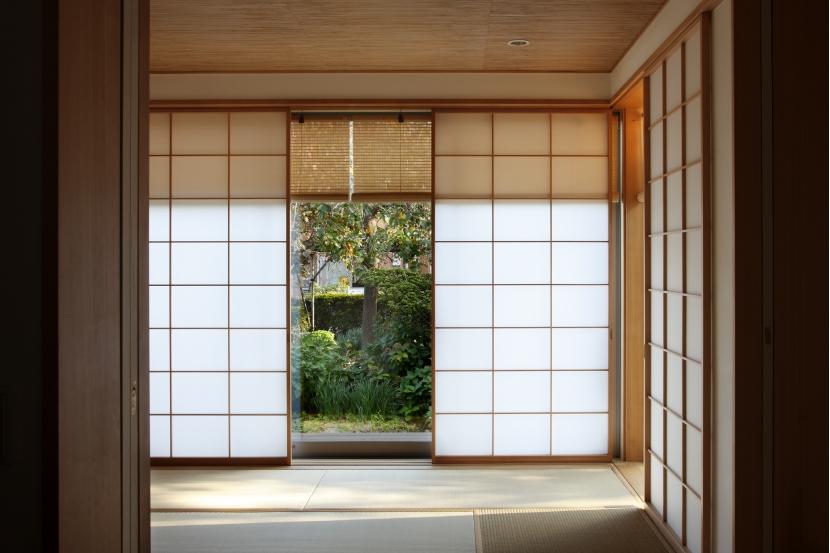 日本家屋のリノベーションの部屋 和室