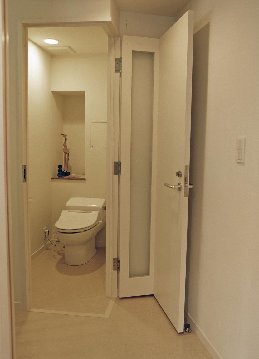 世田谷区 N邸の部屋 トイレ