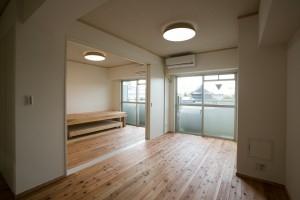 墨田区 S邸の部屋 自然素材で構築したSOHO