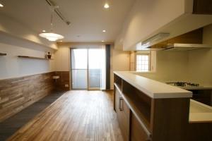 江戸川区 T邸 (自然素材でリフォームしたLDK1)