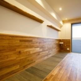 江戸川区 T邸 (自然素材でリフォームしたリヴィング)