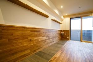 江戸川区 T邸の部屋 自然素材でリフォームしたリヴィング