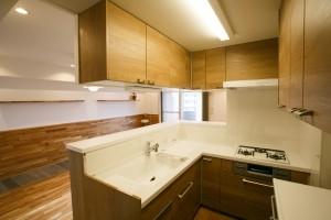江戸川区 T邸の部屋 キッチン