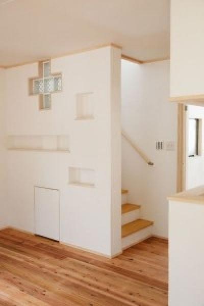 U邸 (階段まわり)