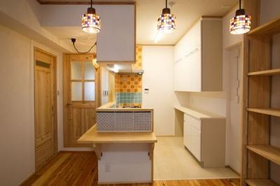 江戸川区 Y邸 (キッチンエリア)