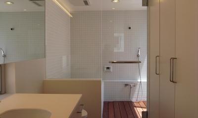 深沢の家 (洗面・トイレ・浴室)