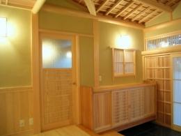 数奇屋の家 (玄関)