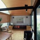 桑原建築設計室の住宅事例「傾斜地の家」