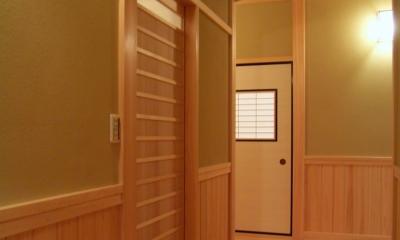 数奇屋の家 (廊下)