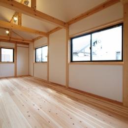 天井の高い部屋 (岩槻の家)
