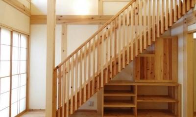 岩槻の家 (階段)