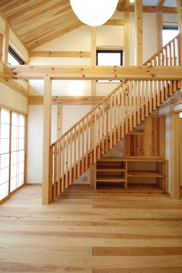 岩槻の家の部屋 階段