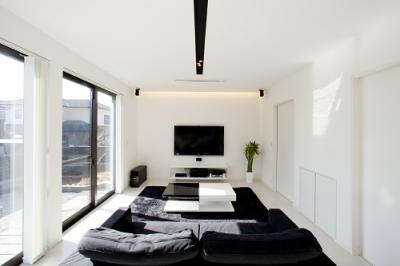 HOUSE-1 (リビング)