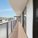 藤沢の家の写真 バルコニー