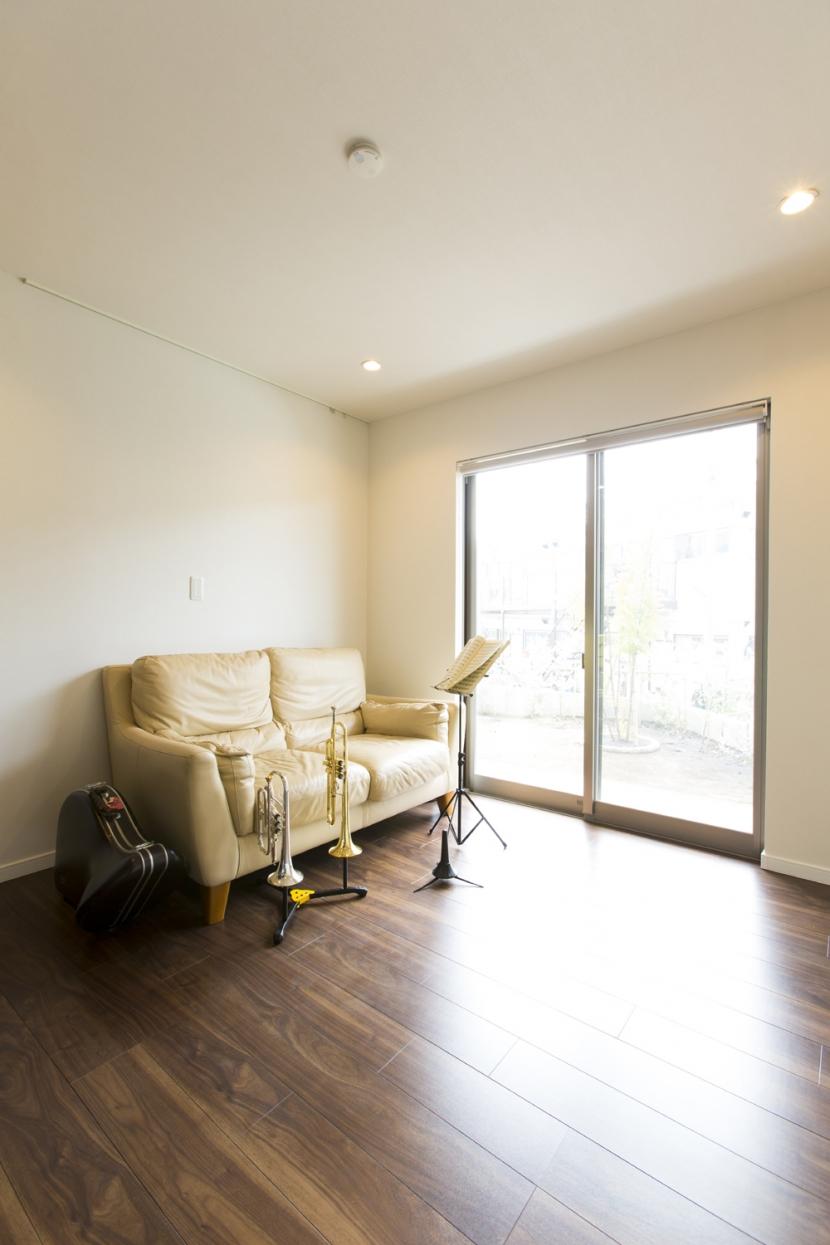 藤沢の家の部屋 趣味室