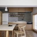 シキリの形の写真 キッチン