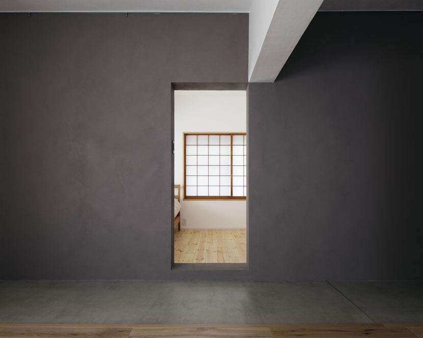 「シキリの形」-鶴川のリノベーション-の部屋 寝室