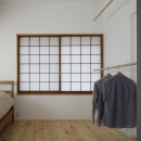 シキリの形の写真 寝室
