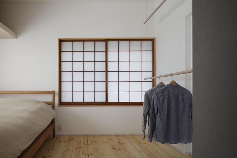 「シキリの形」-鶴川のリノベーション-の写真 寝室