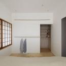 青木律典|デザインライフ設計室の住宅事例「シキリの形」