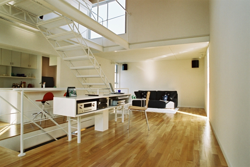 建築家:桑原建築設計室「ワンルーム」