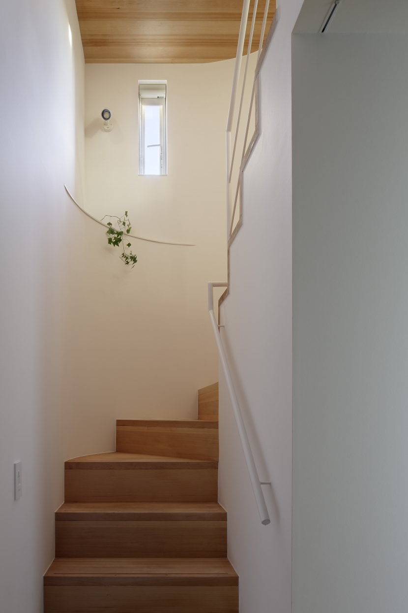 サイ邸の部屋 階段室