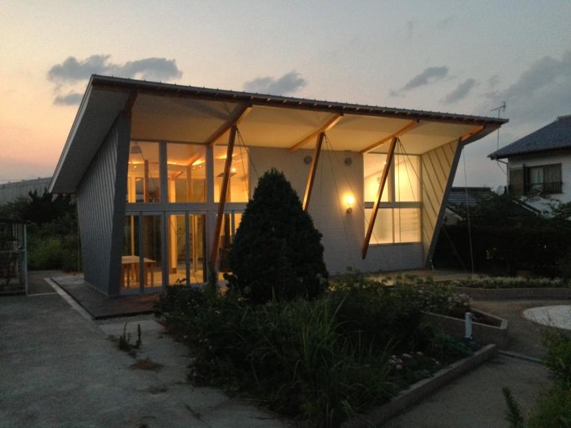 建築家:正本義人「大発コミュニティースペース (ギャラリー+研究室)」