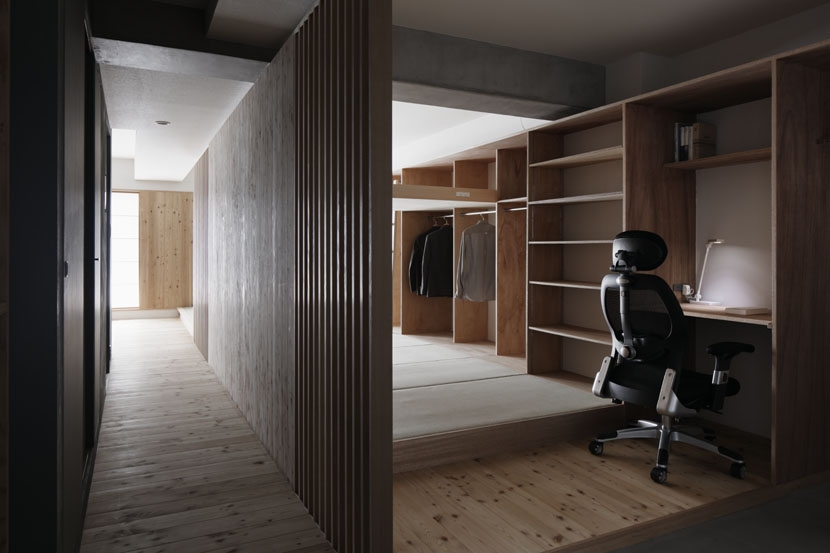 「光の居処」-目白台のリノベーション-の部屋 玄関