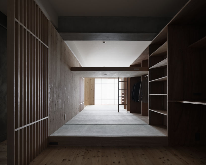 「光の居処」-目白台のリノベーション-の部屋 寝室