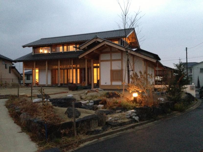 A邸 (造園家の家)