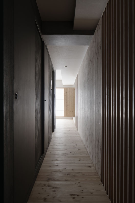 光の居処 (玄関)