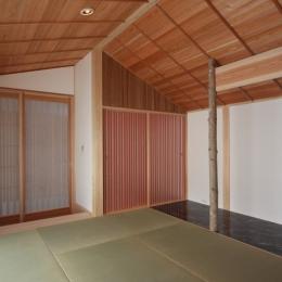 A邸 (造園家の家)の部屋 和室