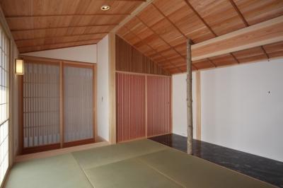 和室 (A邸 (造園家の家))