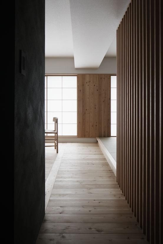 「光の居処」-目白台のリノベーション-の部屋 通路