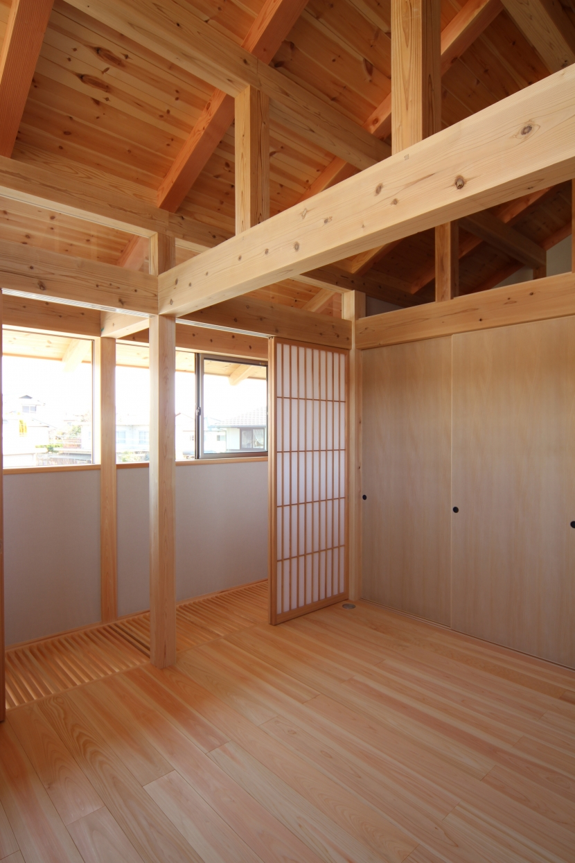 A邸 (造園家の家)の部屋 2階 子供室