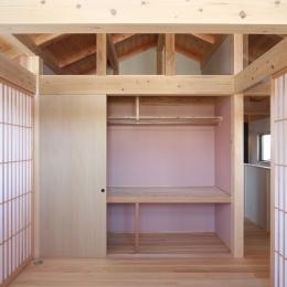 A邸 (造園家の家) (2階 子供室)