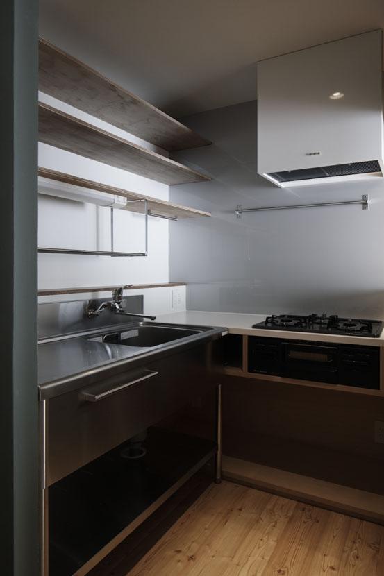 「光の居処」-目白台のリノベーション-の部屋 キッチン