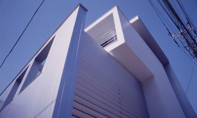M邸(専用住宅) (外観見上げ)