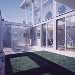 M邸(専用住宅)-屋上緑化