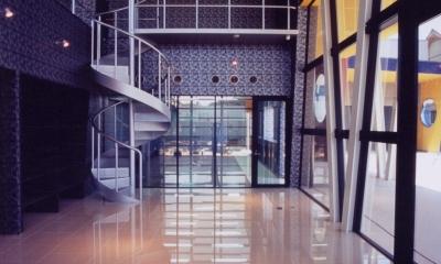 PMC(ショールーム+事務所) (エントランスホール)
