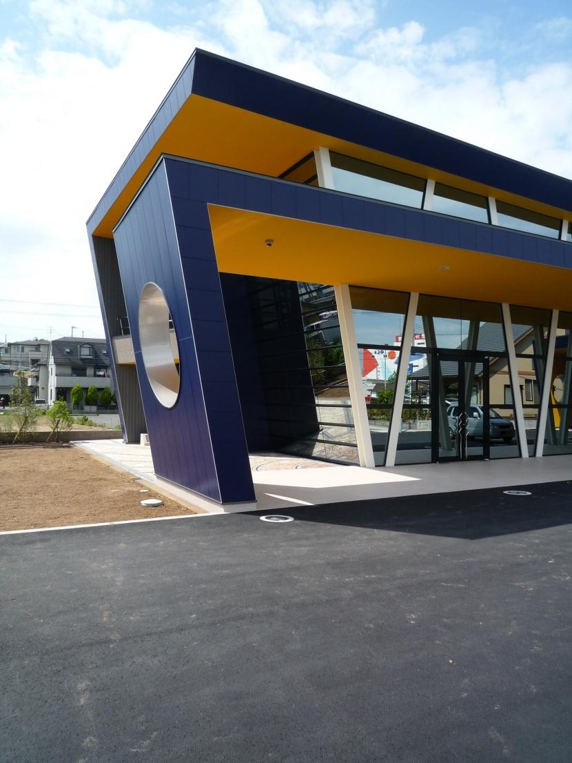 PMC(ショールーム+事務所) (コリドール庇)